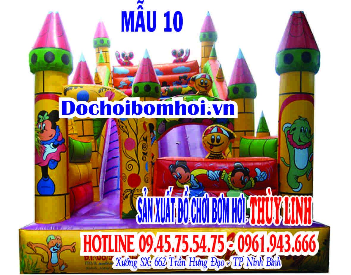 Nhà phao nhún &#8211; Nhà hơi  <br/>NHP 09