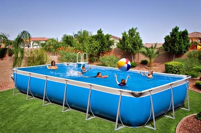 Bể bơi lắp ghép 4m x 8m </br>BL 02