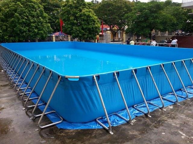 Bể bơi lắp ghép 3m x 6m </br>BL 01