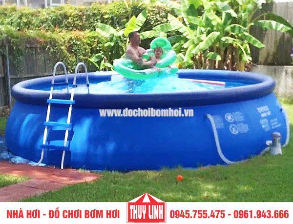 Bể bơi mini tự nổi
