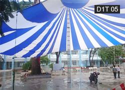 Dù che sự kiện 1 trụ tròn 24m D1T 05