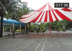 Dù bạt sự kiện tròn 1 trụ 26m D1T 06
