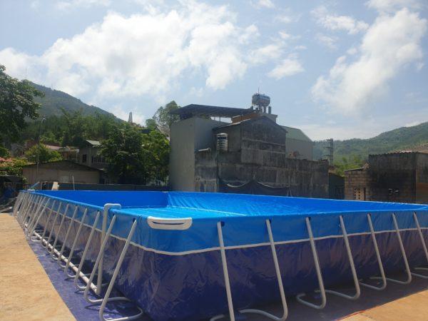 hồ bơi di động lắp ghép