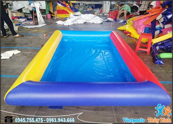 bể bơi bơm hơi xúc cát cho bé