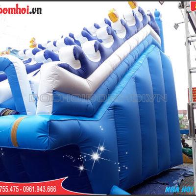 nhà hơi trượt nước rẻ đẹp nha hoi truot nuoc re dep thuy linh 0945755475 Xưởng sản xuất dù bạt sự kiện - cổng hơi - nhà bạt