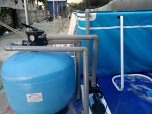 hệ thống bơm lọc nước bể bơi