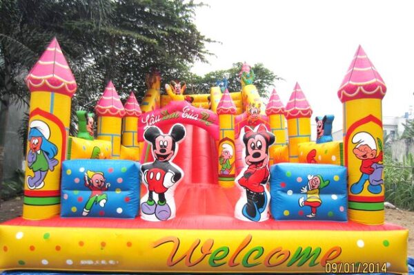 Lau dai bom hoi chuot Mickey Xưởng sản xuất dù bạt sự kiện - cổng hơi - nhà bạt