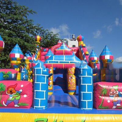 Nhà hơi lâu đài Gấu Trúc Panda